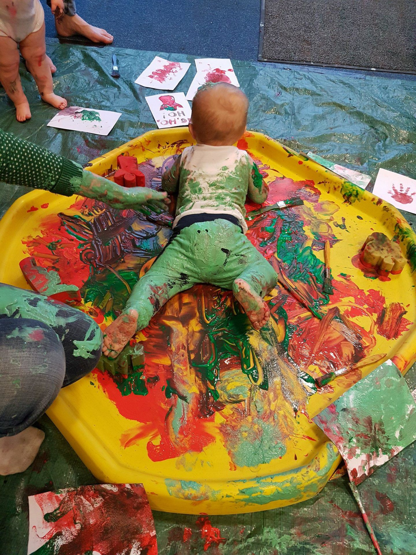 Messiest messy play ever