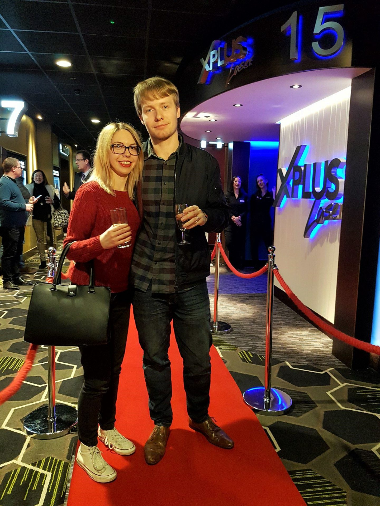 Showcase Cinema de Lux Bluewater, January 2018