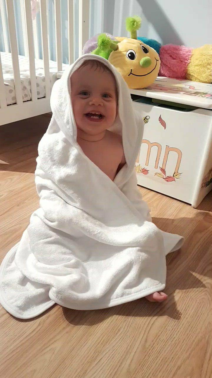 Zhelar bamboo toddler towel