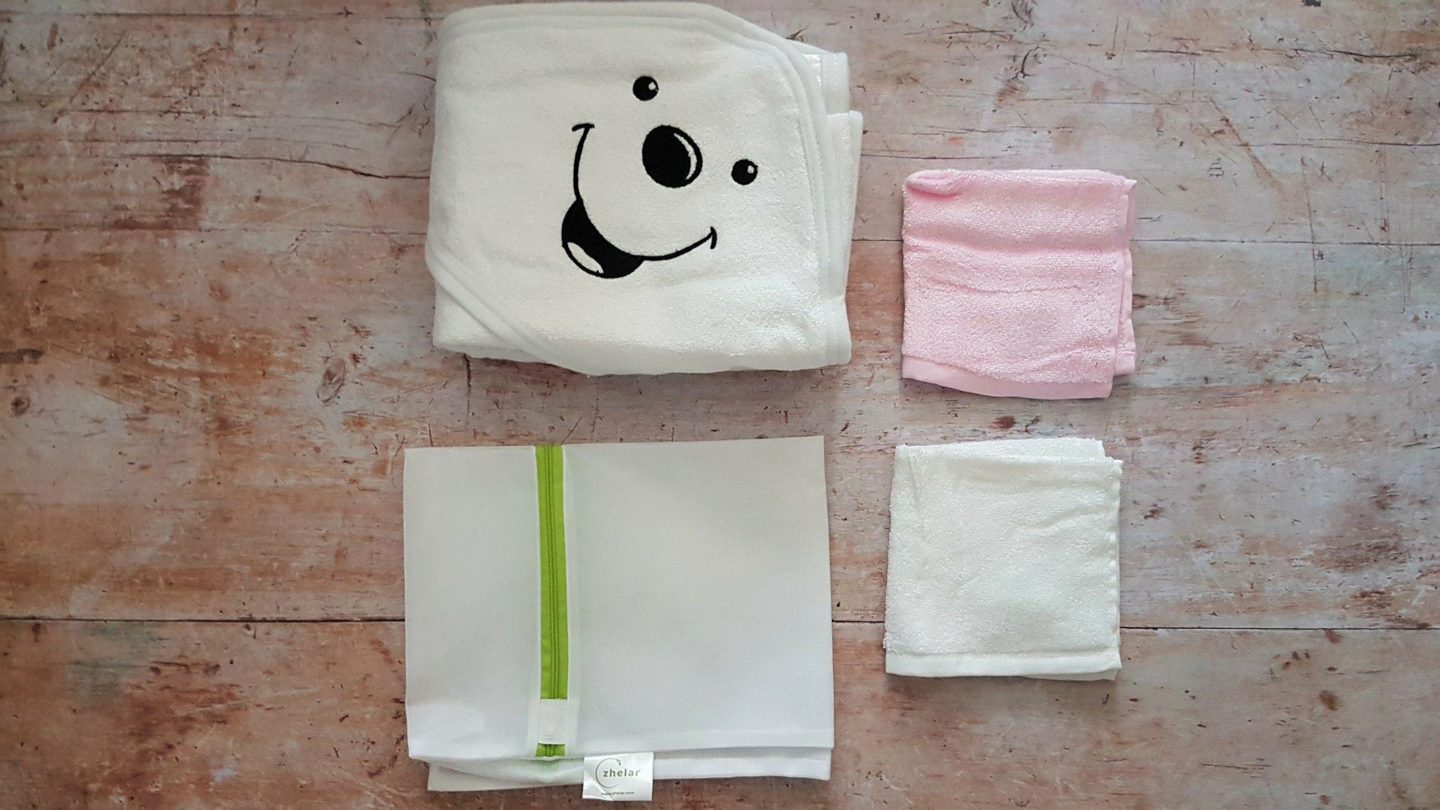 Zhelar organic bamboo towel & washcloths review