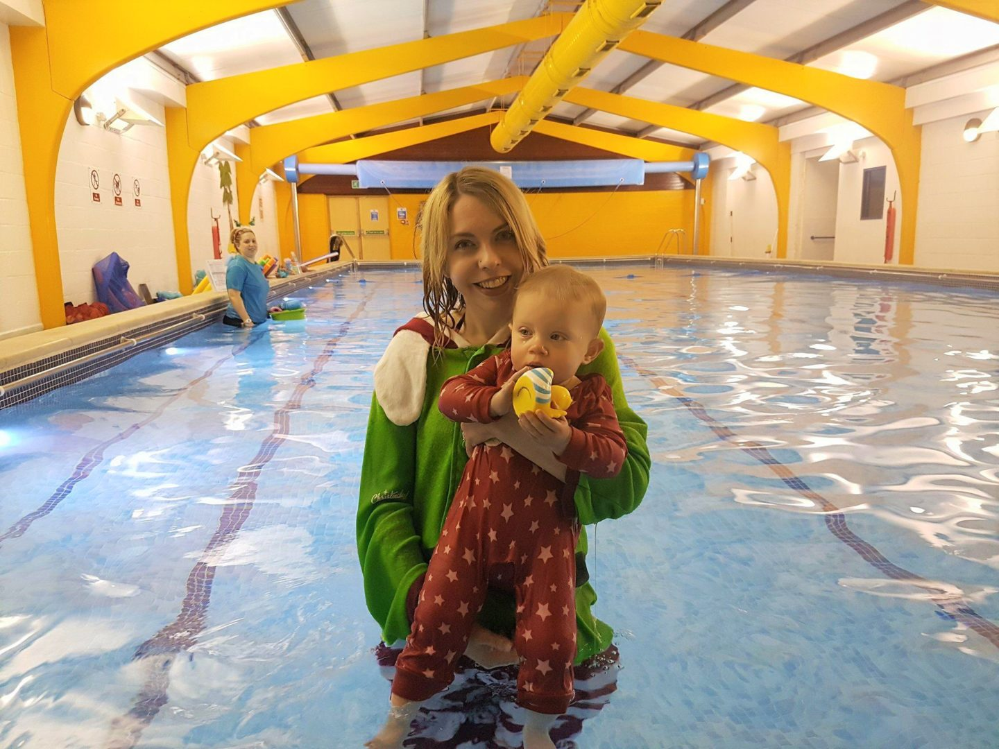 Puddle Ducks East Kent baby swimming review - Christmas week