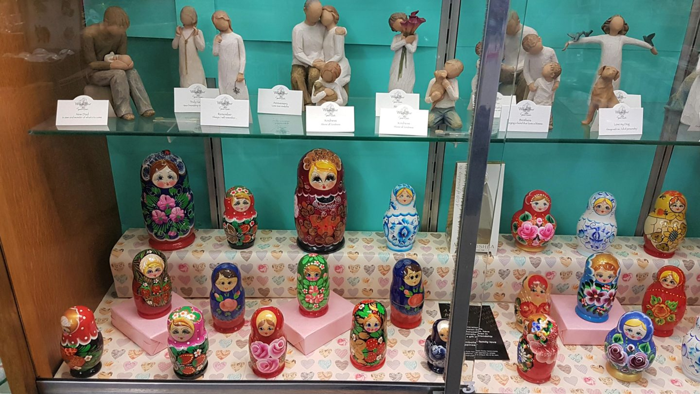 Russian dolls at Munns of Gravesend