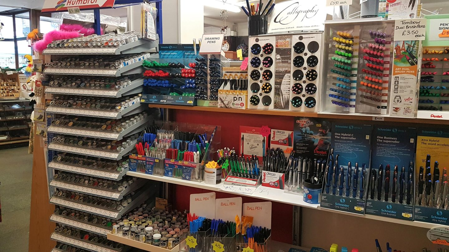 Pens at Munns of Gravesend
