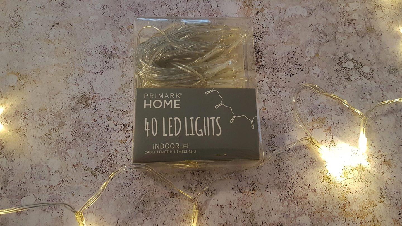 Fairy lights (led)
