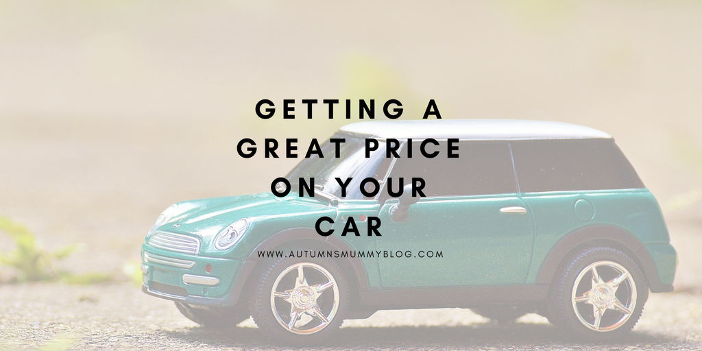 Getting a great price on your car