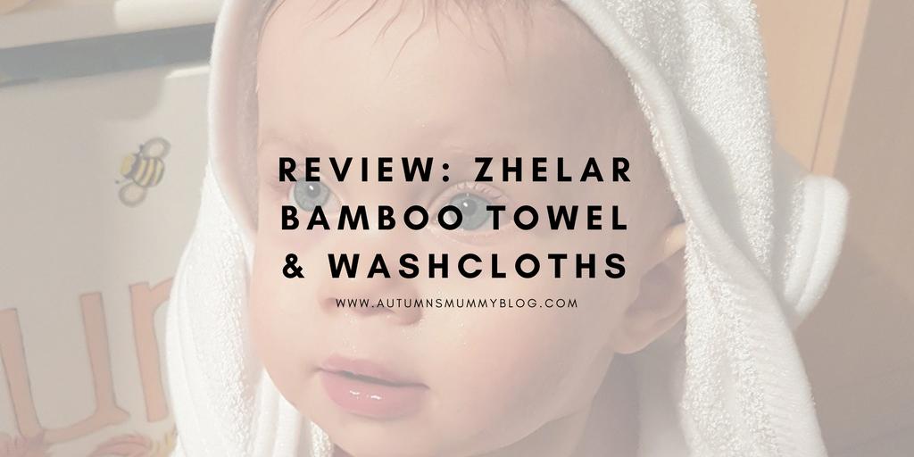 Review: Zhelar Bamboo Towel & Washcloths