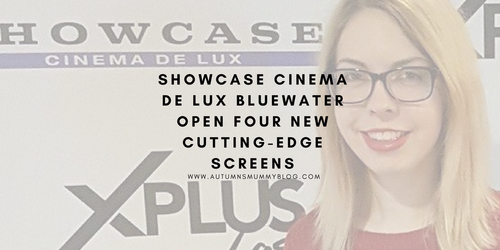 Showcase Cinema de Lux Bluewater open four new cutting-edge screens