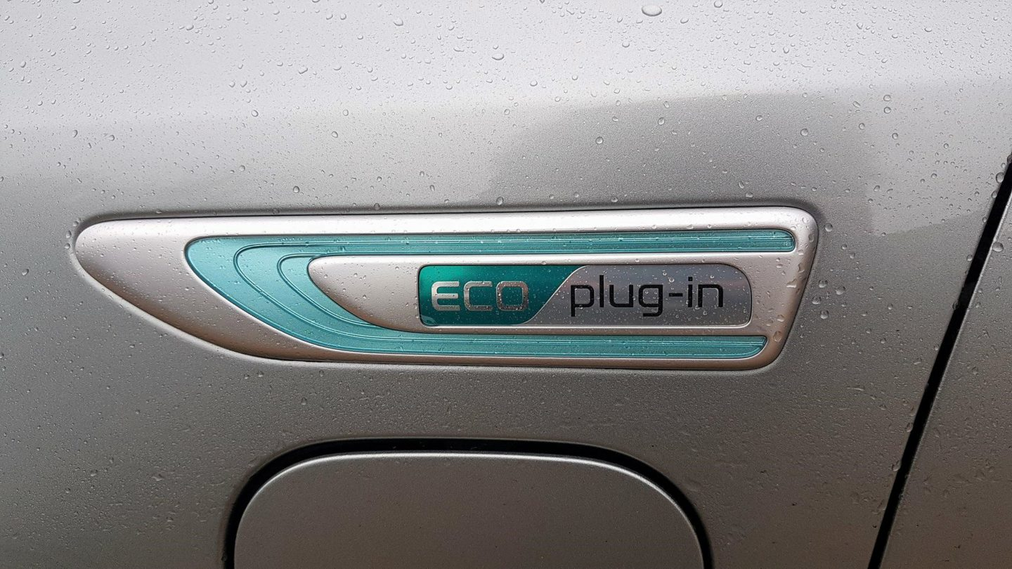 Kia Optima Sportswagon Eco Plug-In Badging