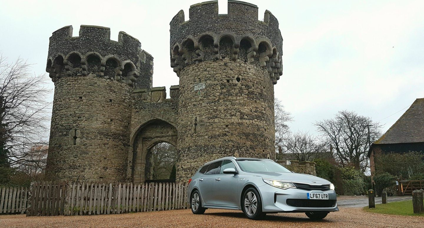 Kia Optima Sportswagon PHEV review - family car