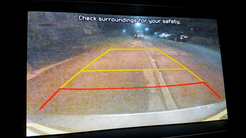 Kia Optima Sportswagon reverse parking camera