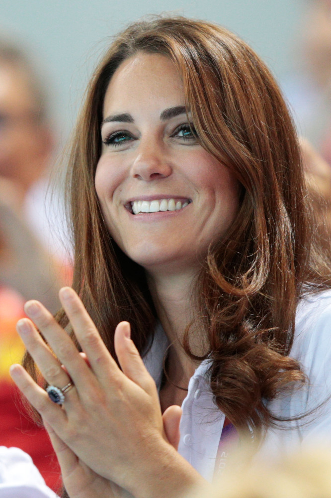 Duchess of Cambridge sapphire engagement ring