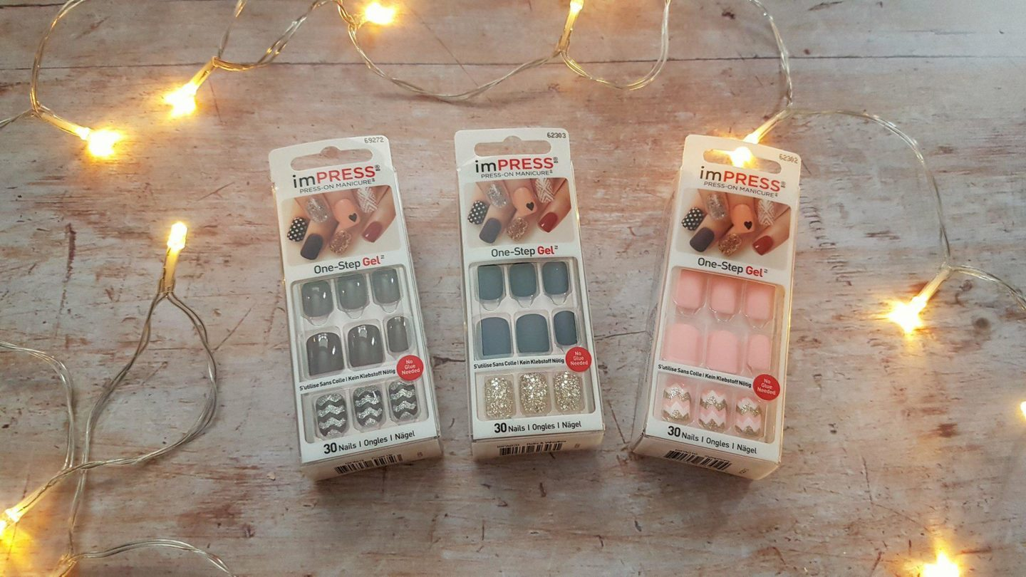 Kiss Nails imPress stick on nails, available at Superdrug