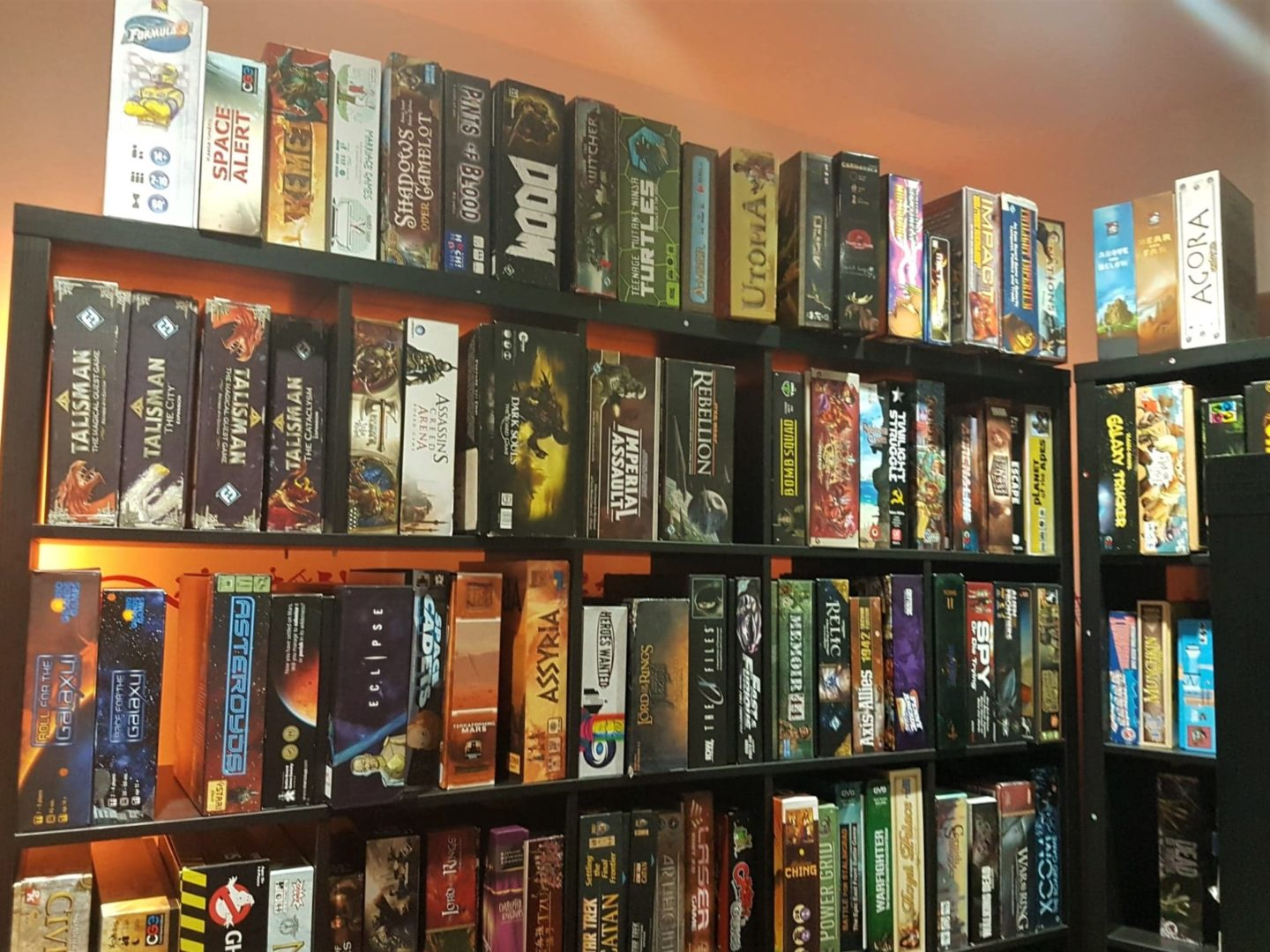 Board games at Playopolis board game cafe in Rochester, Kent