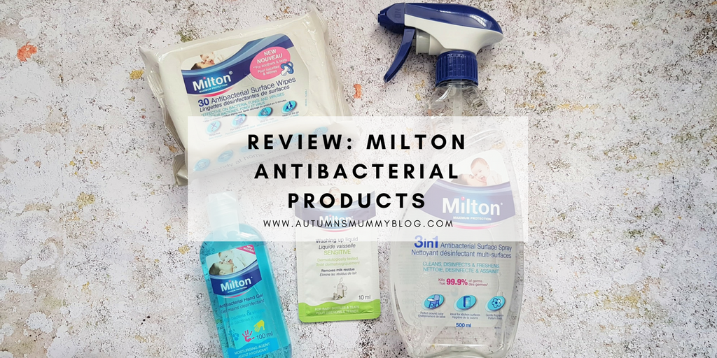 Review: Milton Antibacterial Products