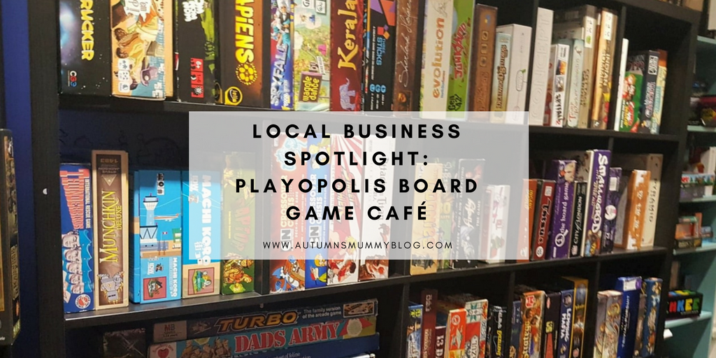 Local Business Spotlight: Playopolis board game café