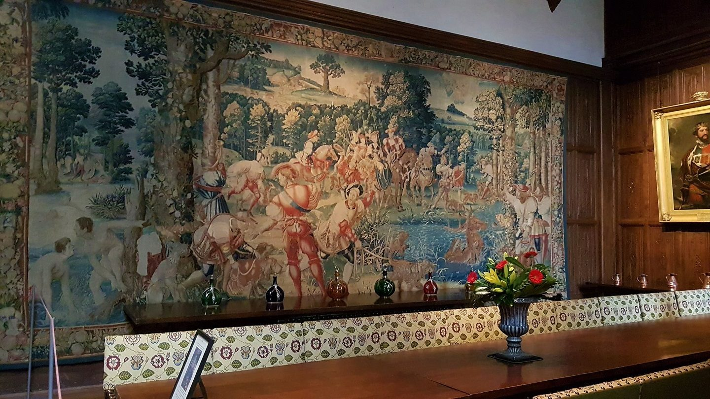 Tapestry at Hever Castle