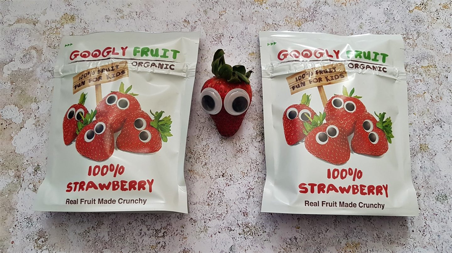 Suzie Strawberry, Googly Fruit snacks for toddlers and children