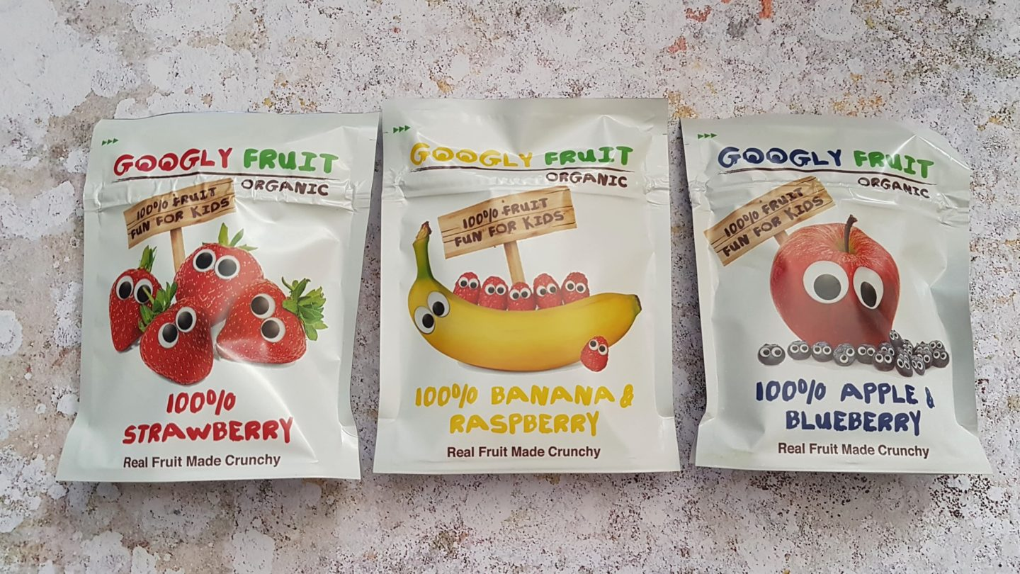 Googly Fruit real fruit made crunchy, freeze dried fruit snacks for toddlers
