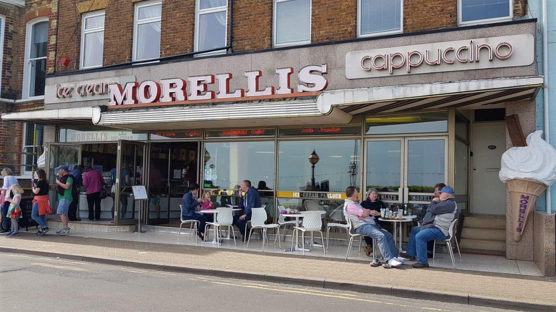 Morellis in Broadstairs, Kent
