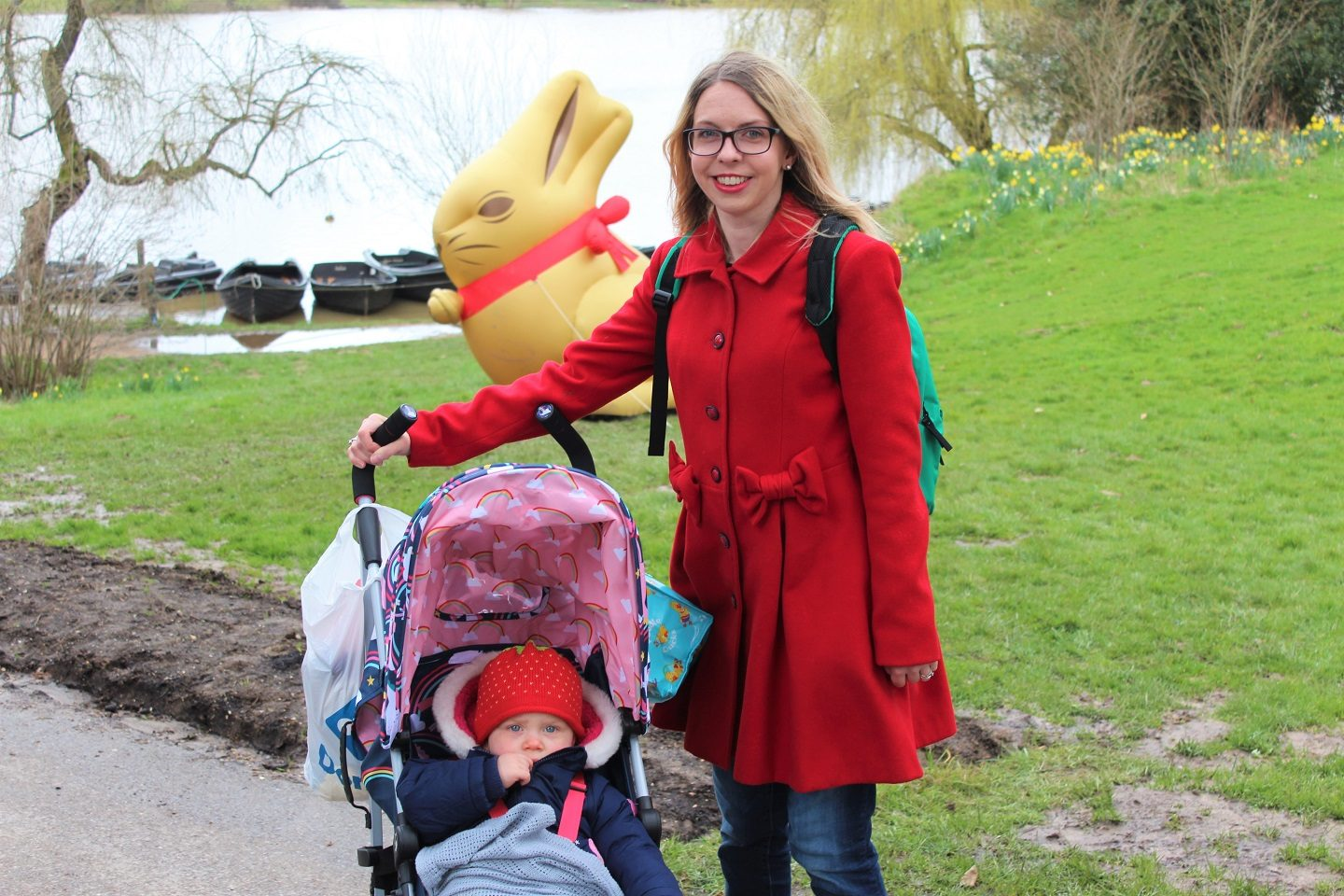 Lindt Easter bunny hunt at Hever Castle