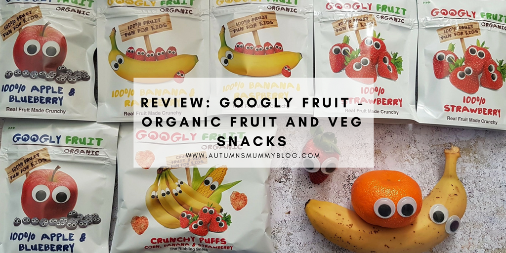 Review: Googly Fruit – organic fruit and veg snacks