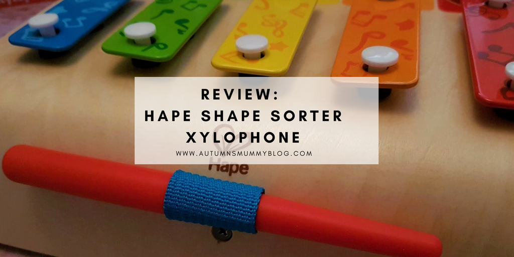 Review: Hape Shape Sorter Xylophone