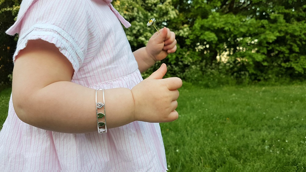 Molly Brown personalised child's bracelet (Her Love)