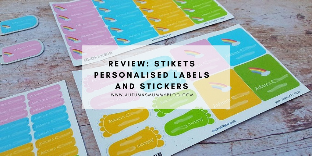 Review: Stikets personalised labels and stickers