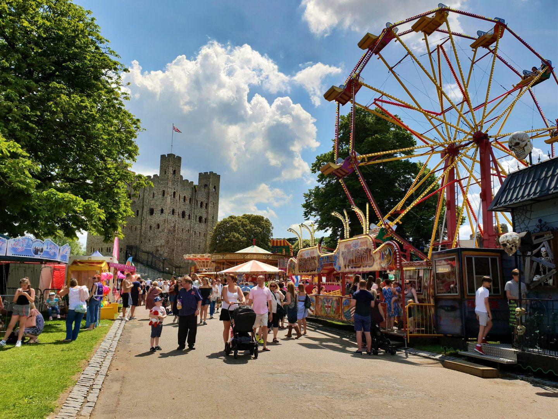 Fair at Rochester Dickens Festival