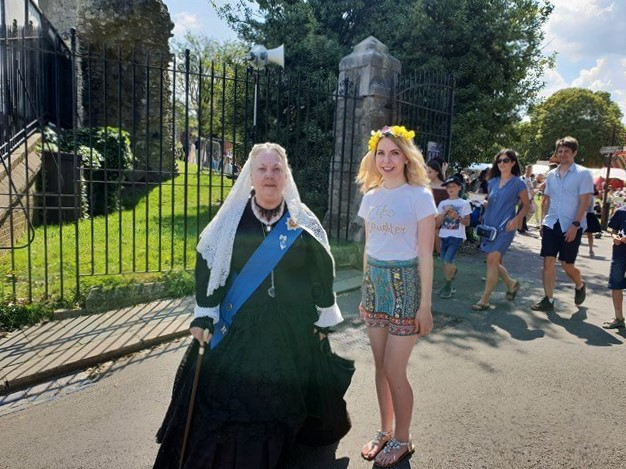 Queen Victoria at Rochester Dickens Festival