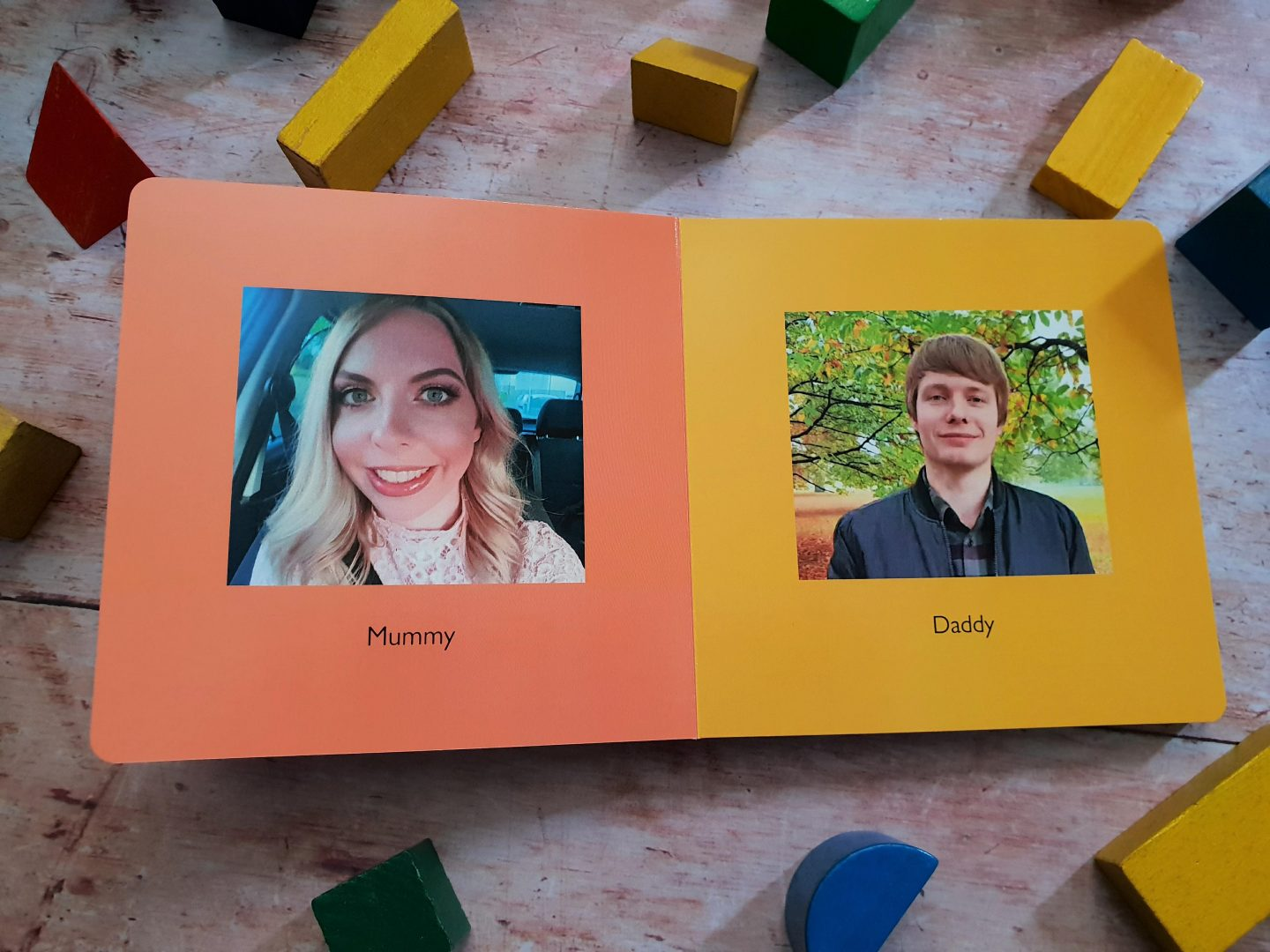 Photobox my first photo album - photo book for toddlers