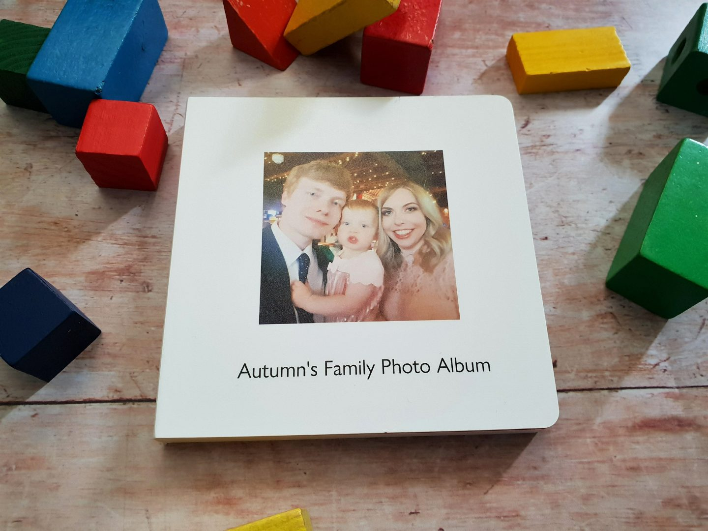 My first photo book family album from Photo Box