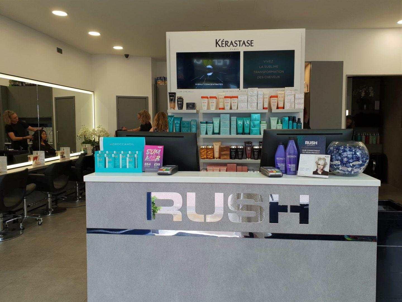 Rush Hair salon, Week Street, Maidstone