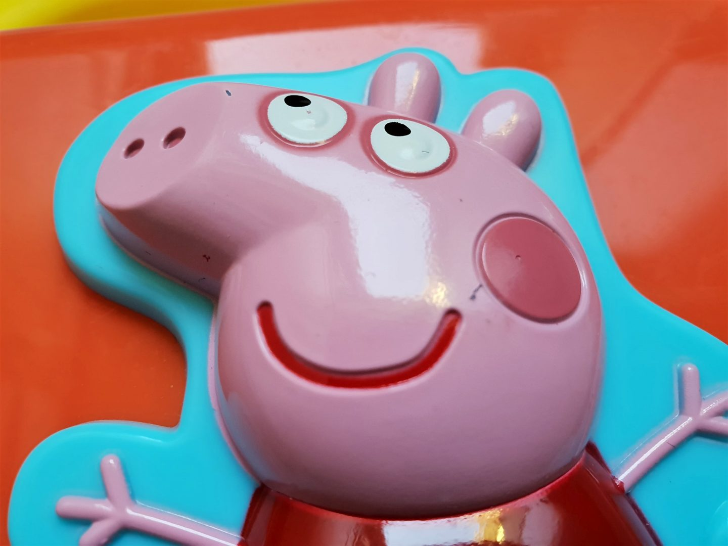 Peppa Pig Laugh and Learn Laptop damage