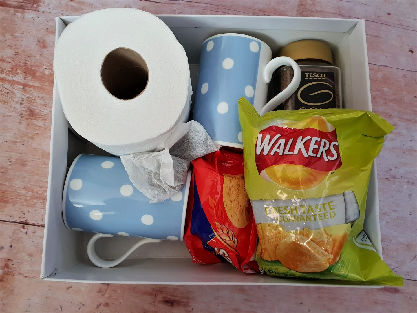 Moving house survival box