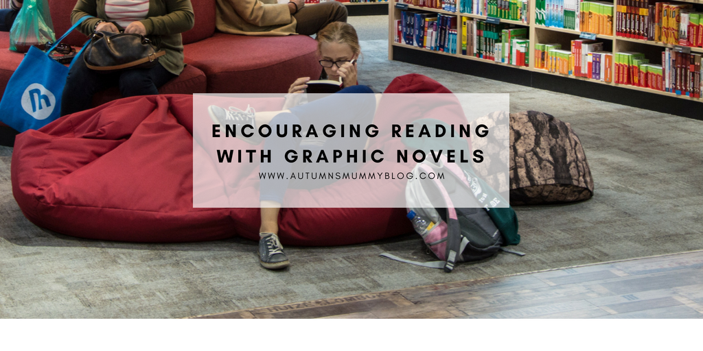 Encouraging reading with graphic novels