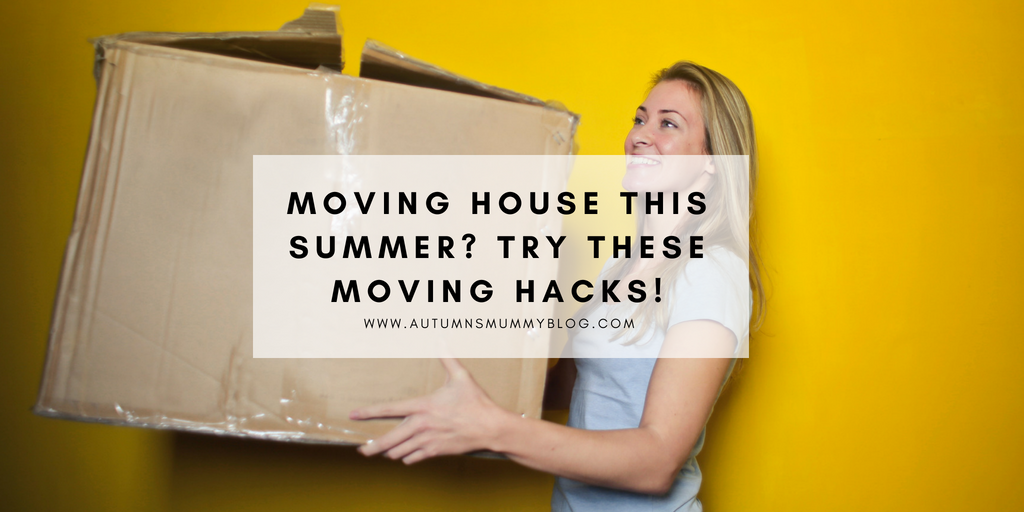Moving house this summer? Try these moving hacks!