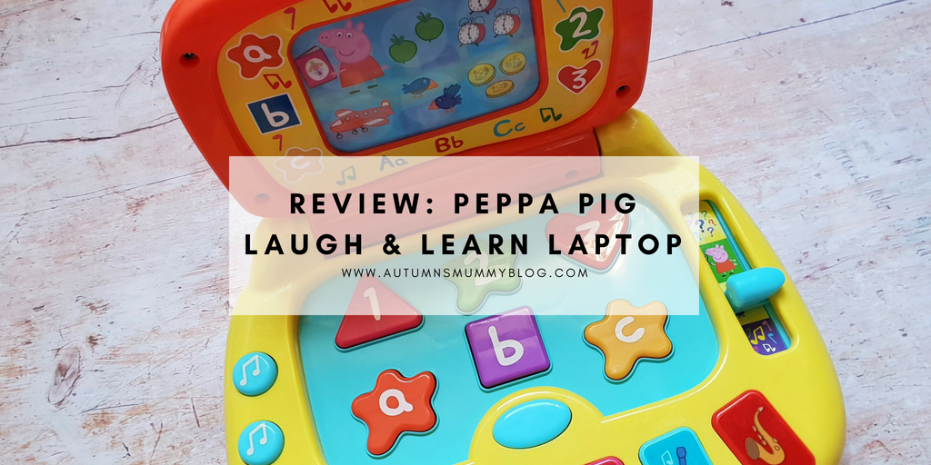 Review: Peppa Pig Laugh & Learn Laptop