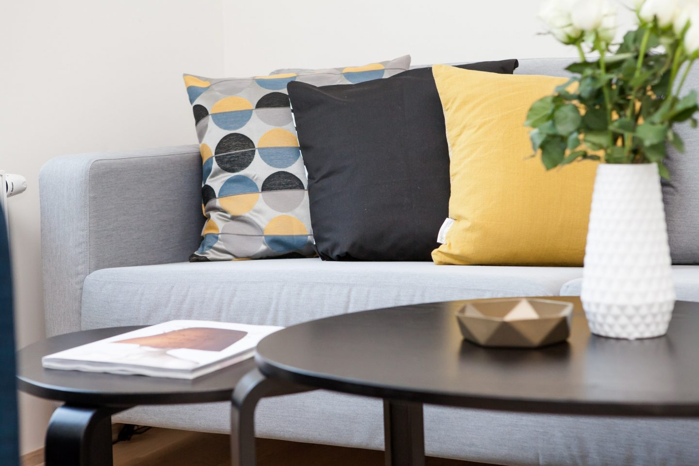 Cushions and furnishings to brighten up home