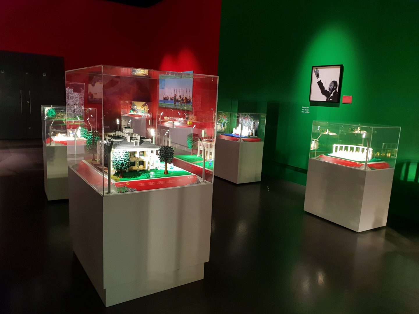 Brick History Lego exhibition at Chatham Dockyard