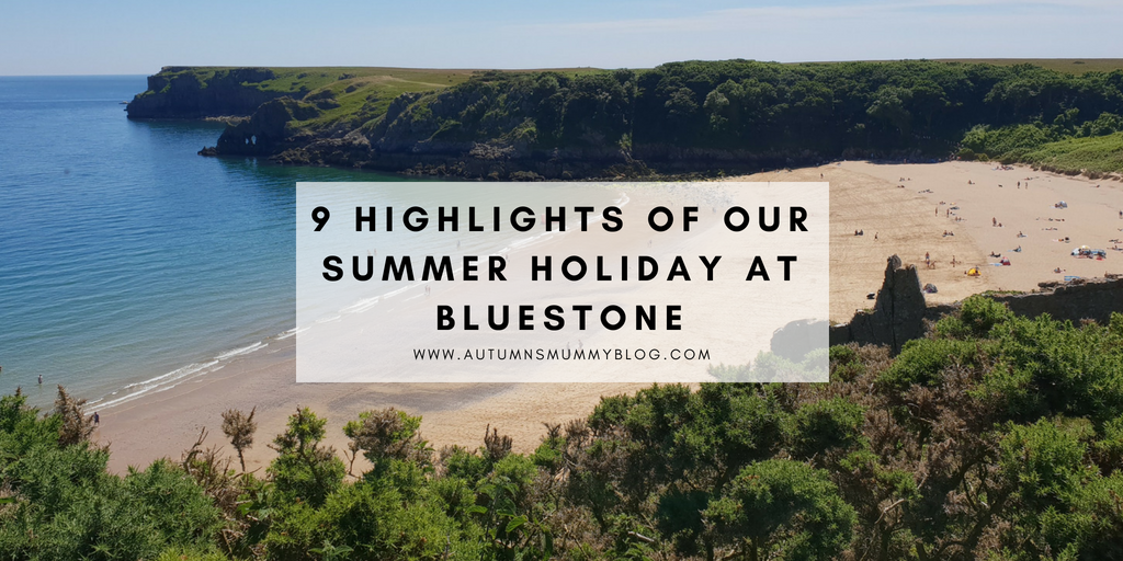 9 highlights of our summer holiday at Bluestone