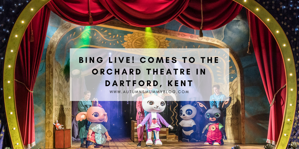Bing Live! comes to the Orchard Theatre in Dartford, Kent