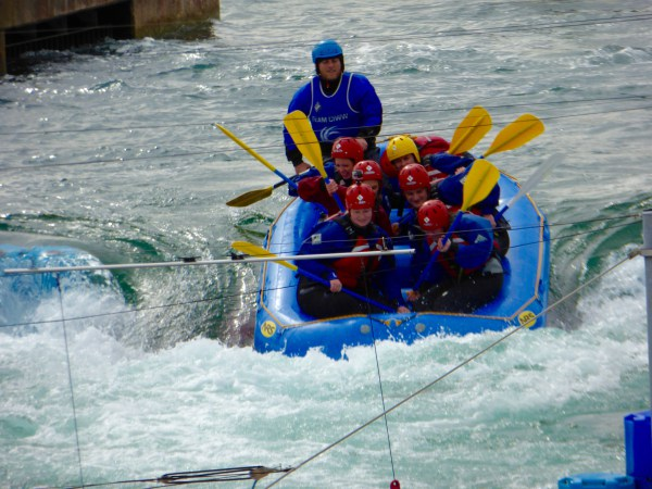 white water rafting centre cardiff