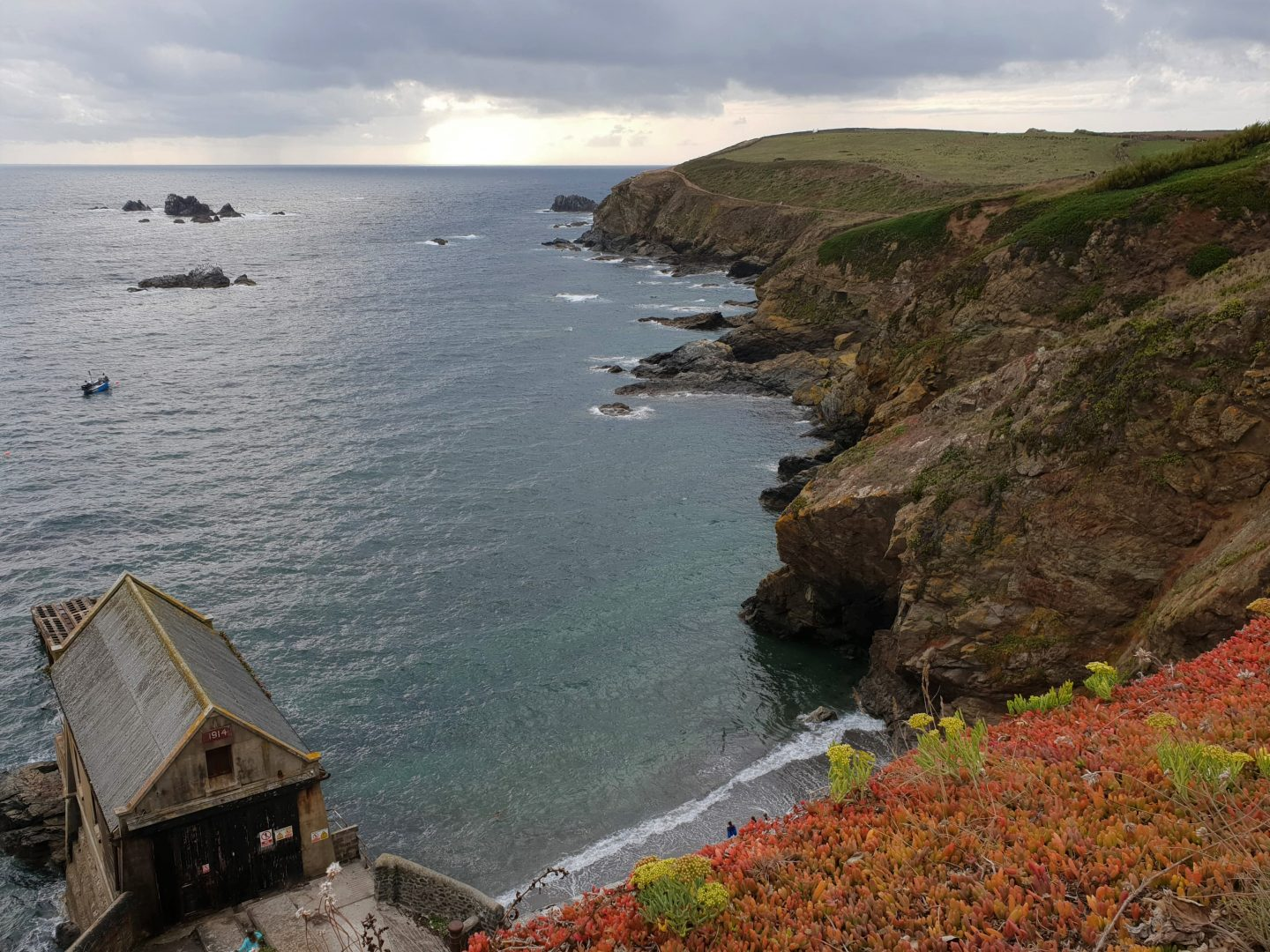 The Lizard Peninsula in Cornwall