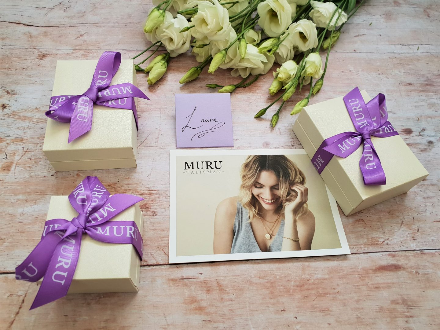 Muru jewellery gift boxes