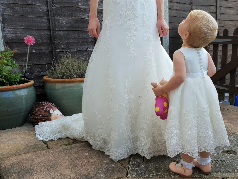 Sarah Louise Skylar Dress - toddler flower girl/christening/occasion dress