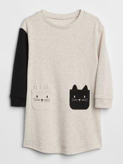 Gap cat pocket dress