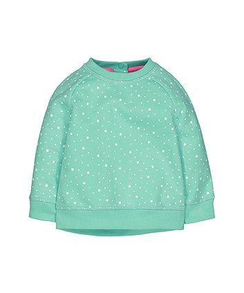 Mint green sweatshirt