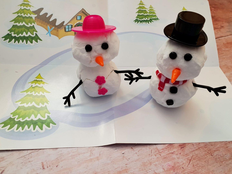 Mr & Mrs Snowman Floof