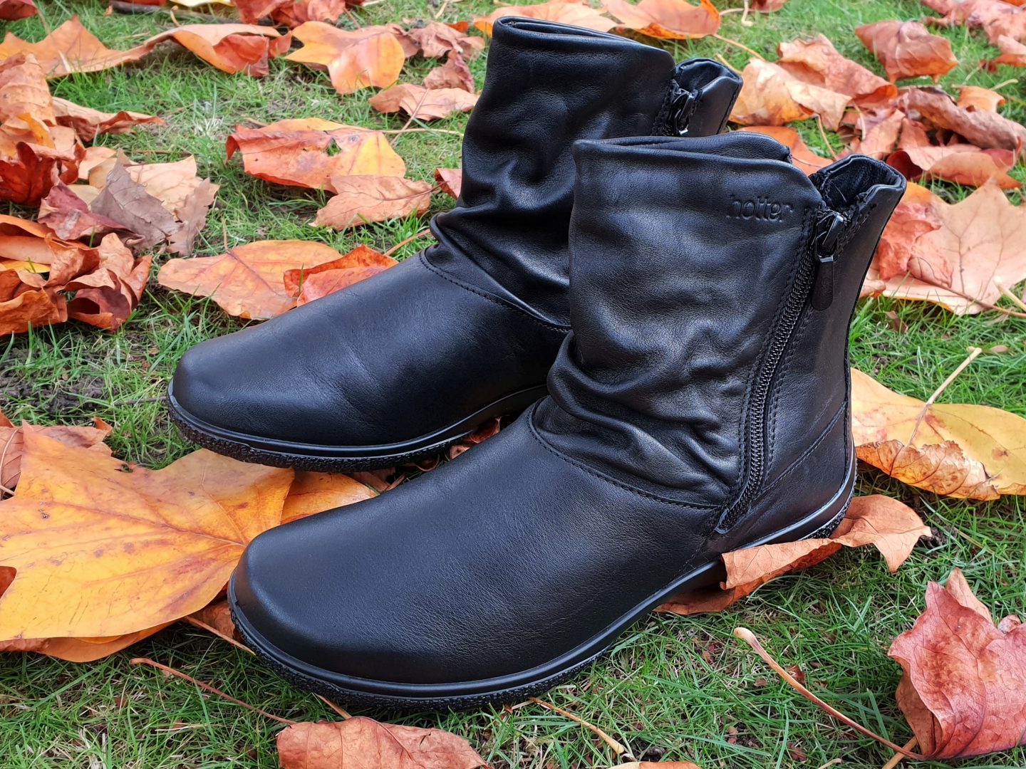 Hotter Whisper Boots - Black Leather - Review